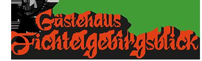 Logo vom Gästehaus Fichtelgebirgsblick