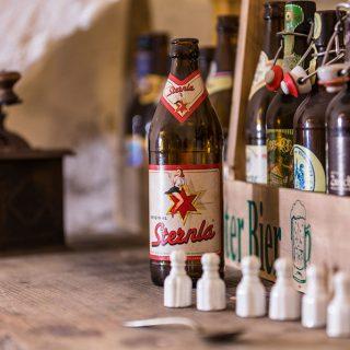 Bierflaschen aus der Region