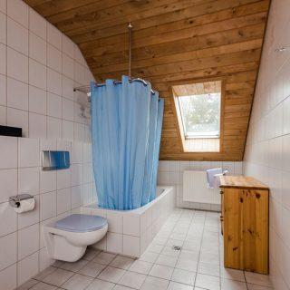 Badezimmer der Feriewohnung Huhn