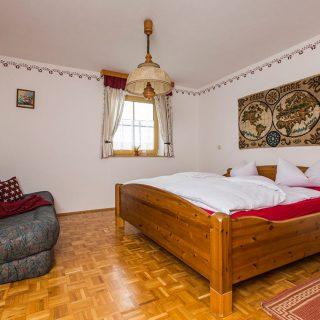 Schlafzimmer der Ferienwohnung Schweinchen